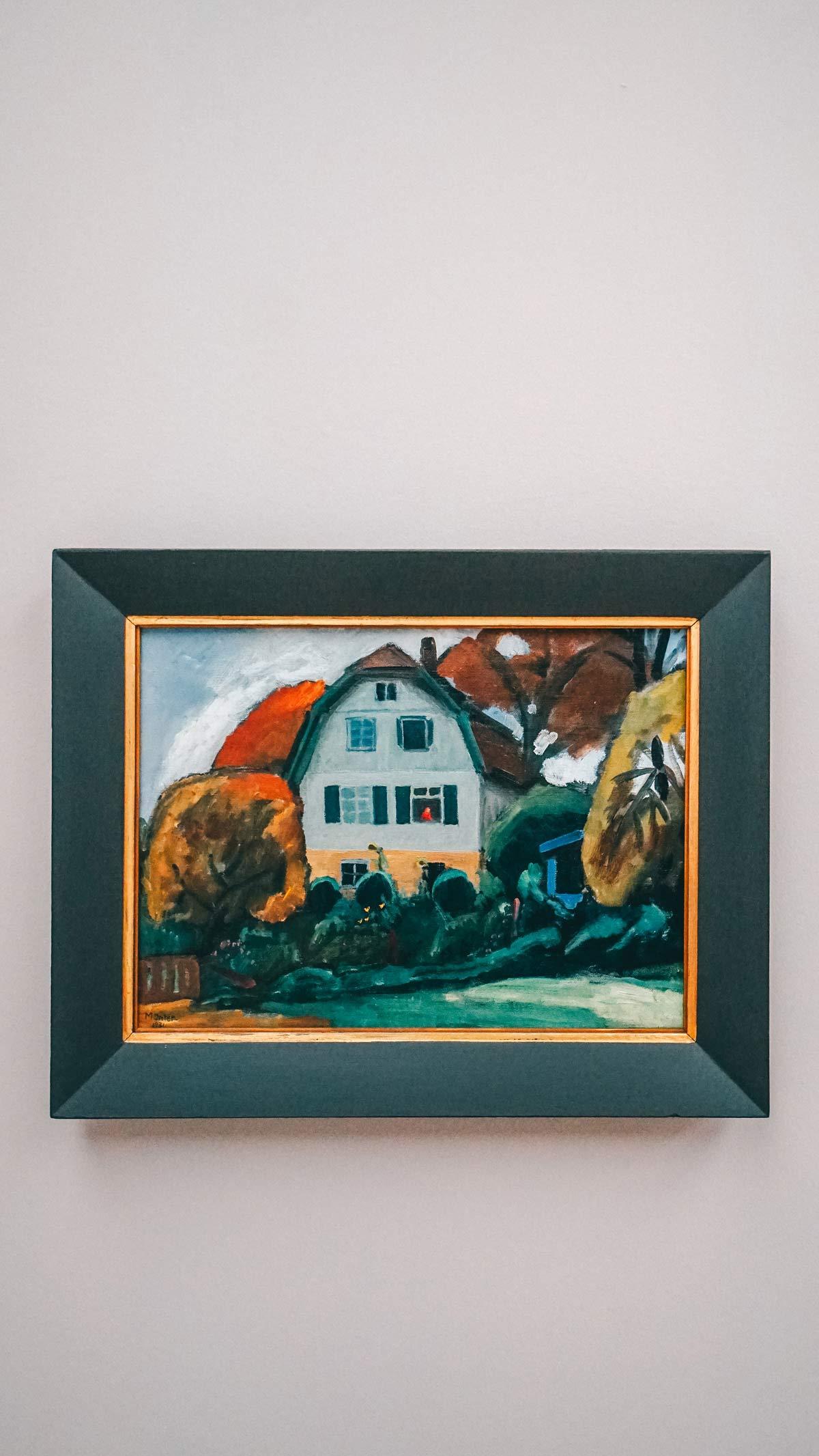 KunstKultur Lenbachhaus Muenterhaus
