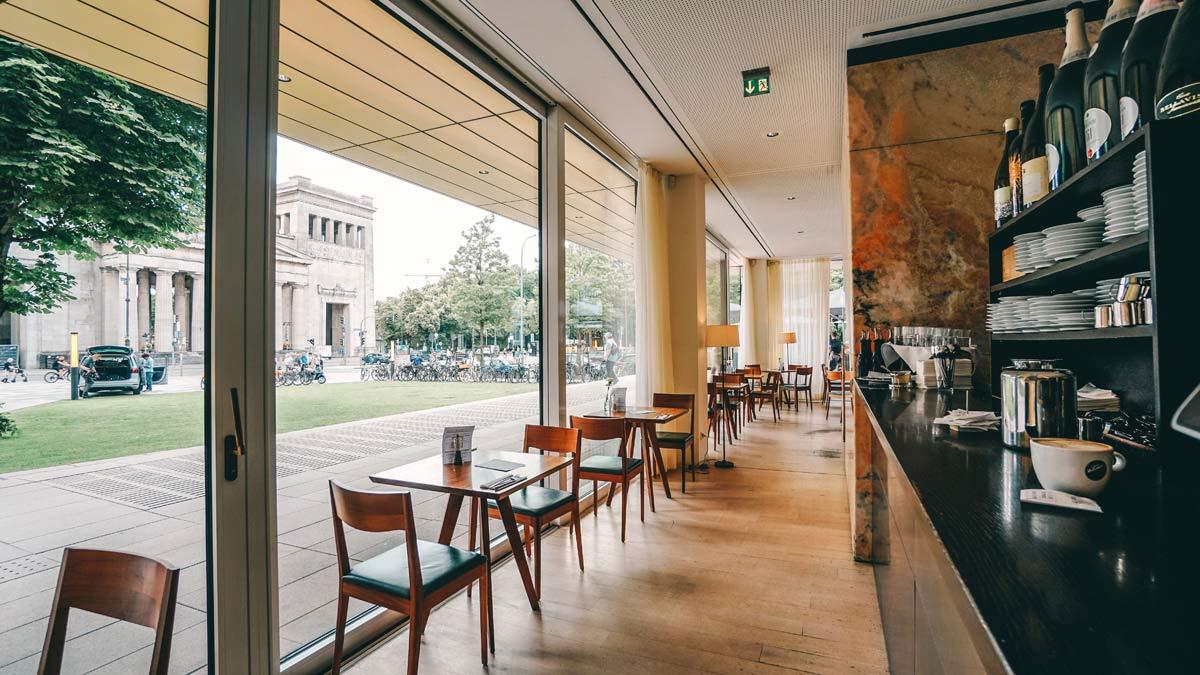 KunstKultur Lenbachhaus Restaurant Ella