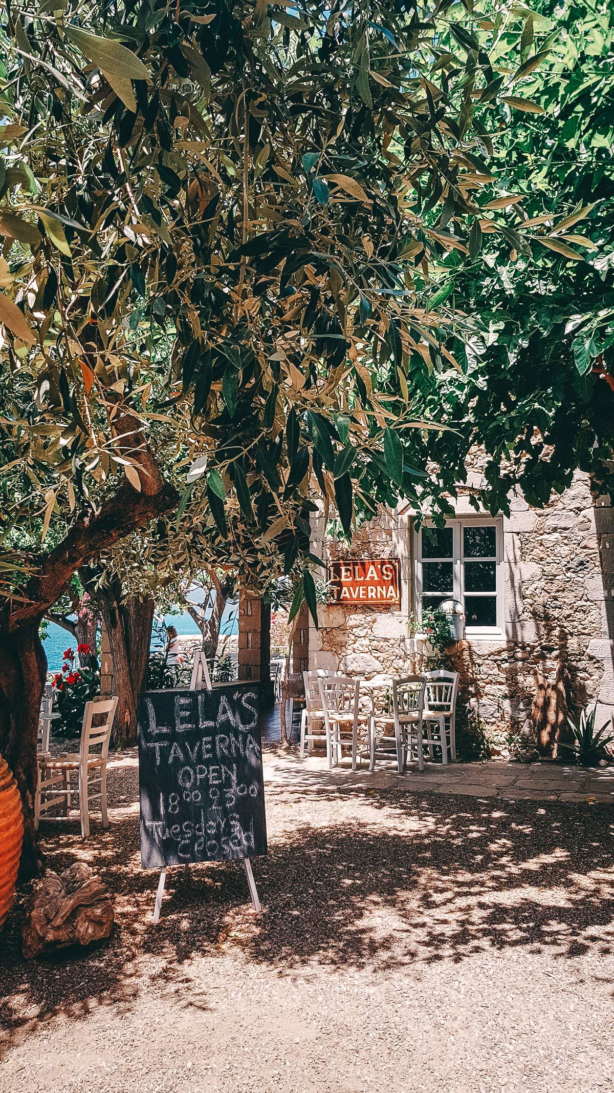 Lelas Taverna Griechenland