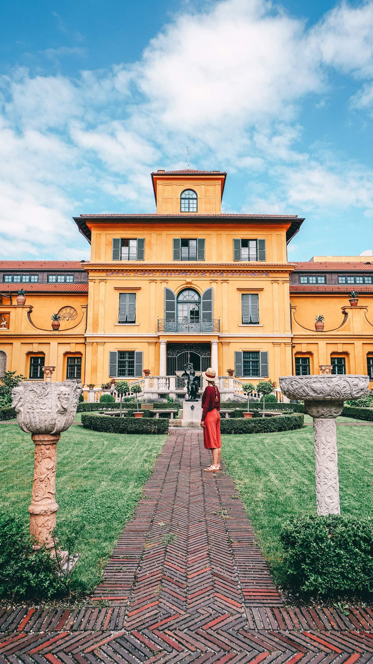 Lenbachhaus Muenchen Garten
