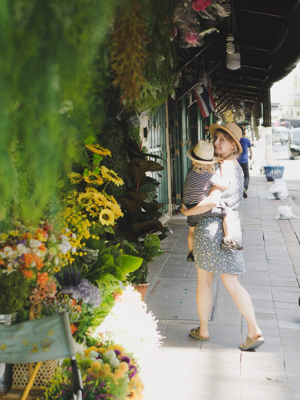 Pia Winter Bangkok Flower Market