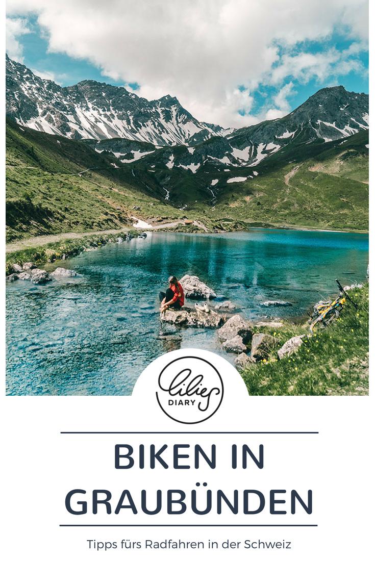 Radtouren Graubuenden Schweiz