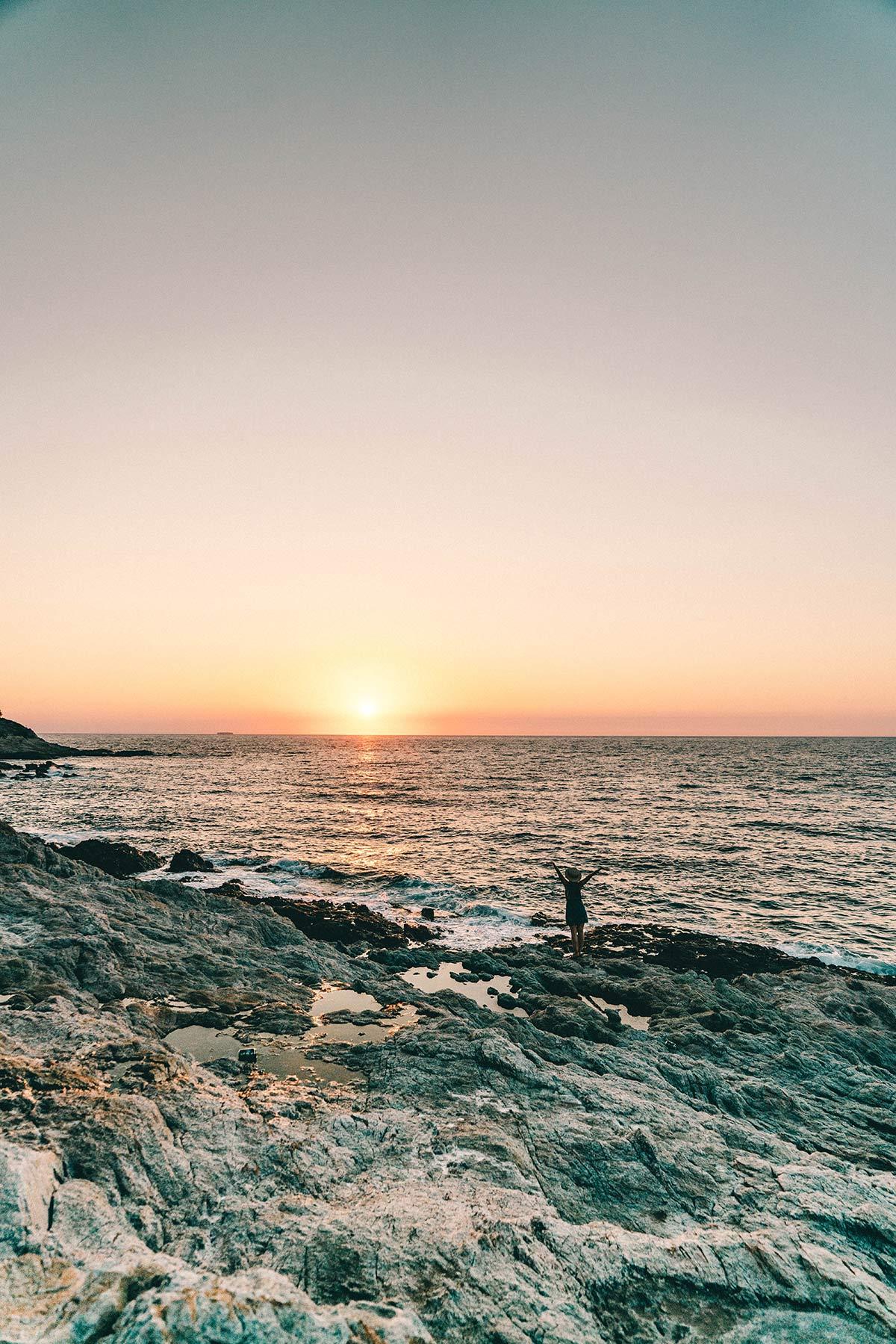 Sonnenuntergang Ikaria