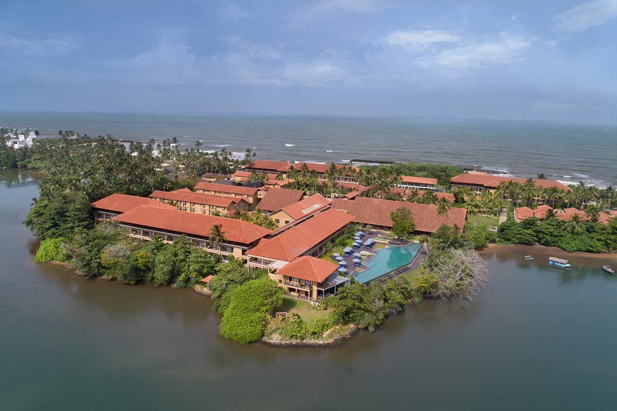Anantara Kalutara Resort Aerial View