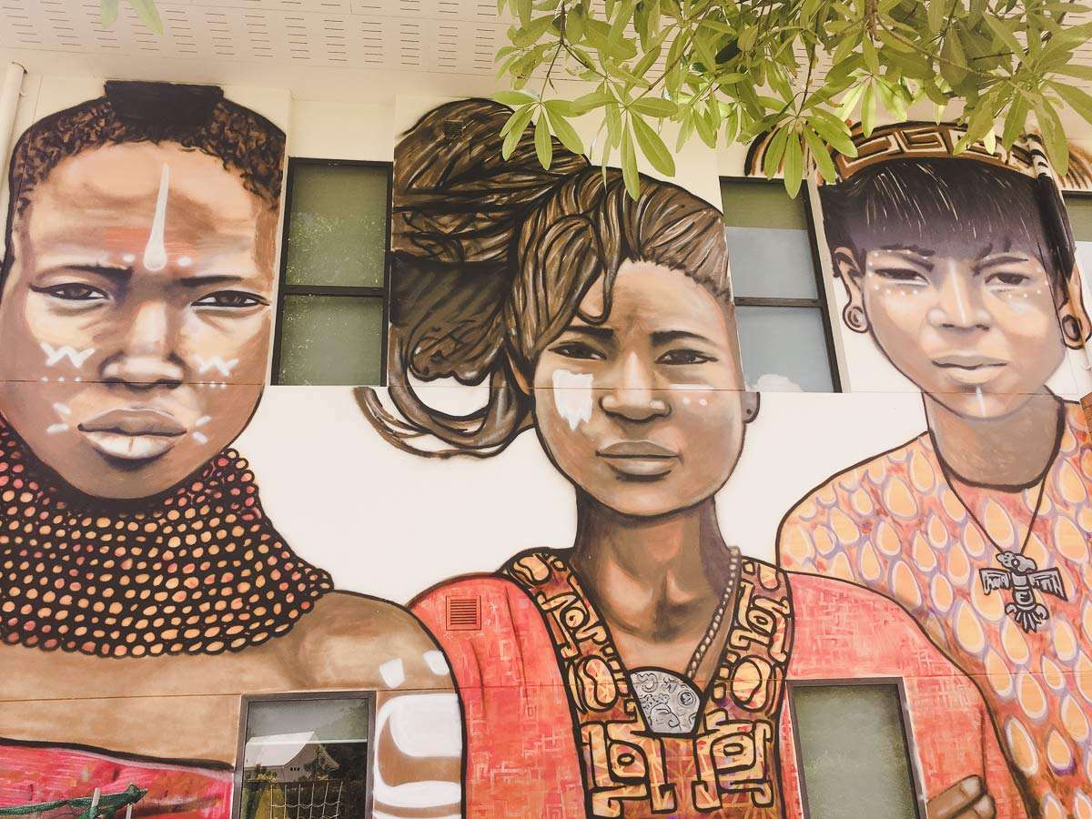 Art Work United College Thanyapura Phuket