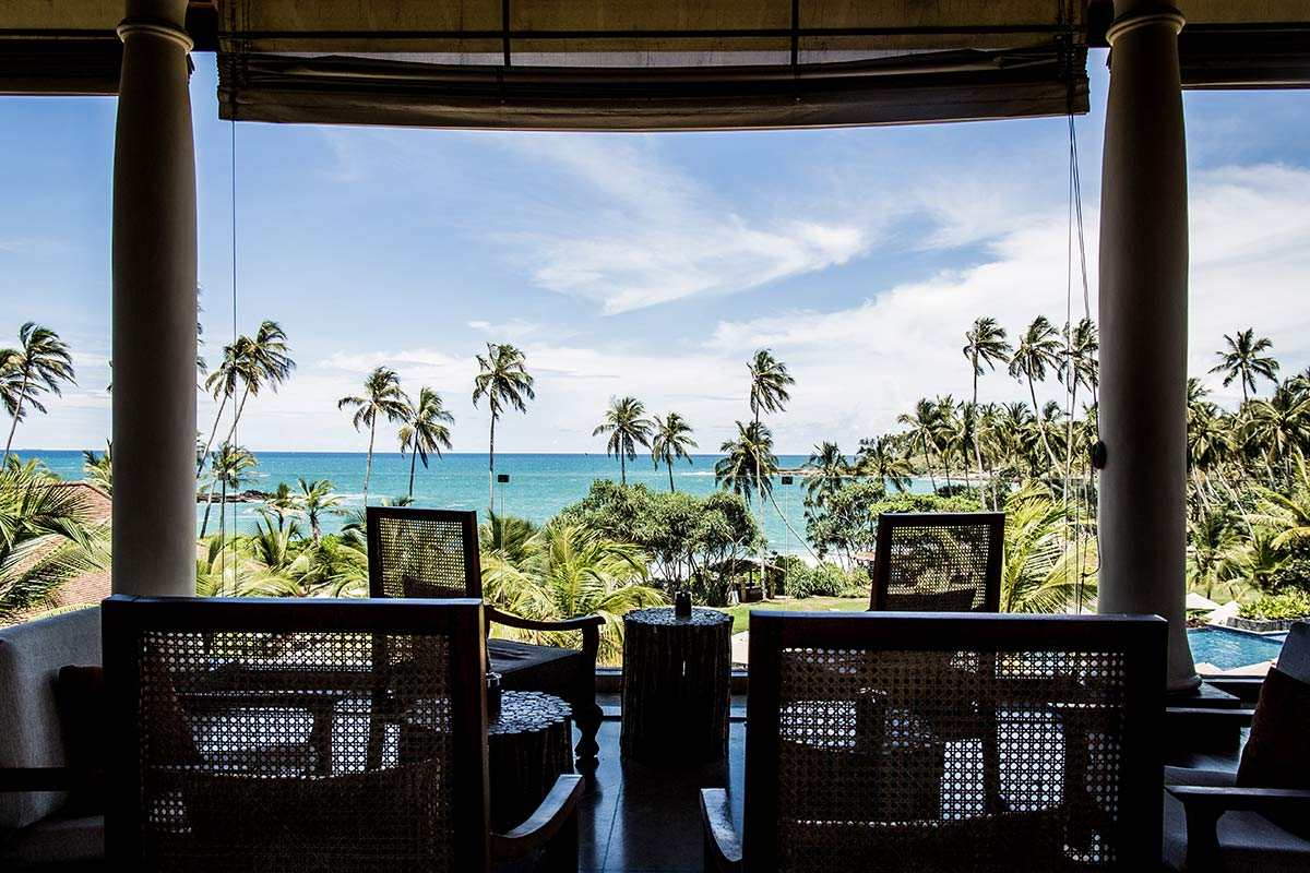 Ausblick Anantara Peace Haven Tangalle Resort