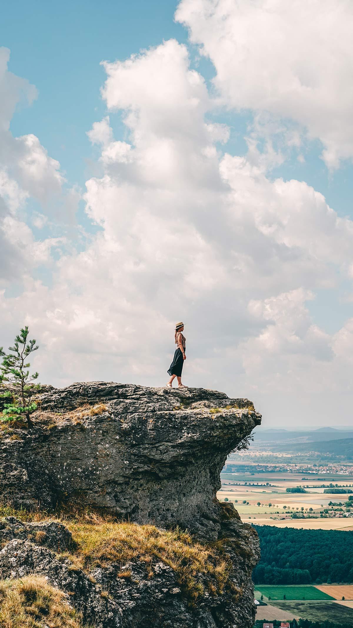 Aussicht Staffelberg Bad Staffelstein