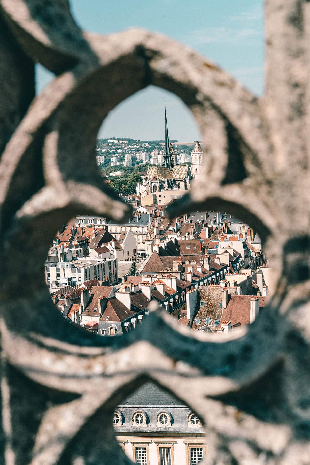 Aussicht Turm Dijon