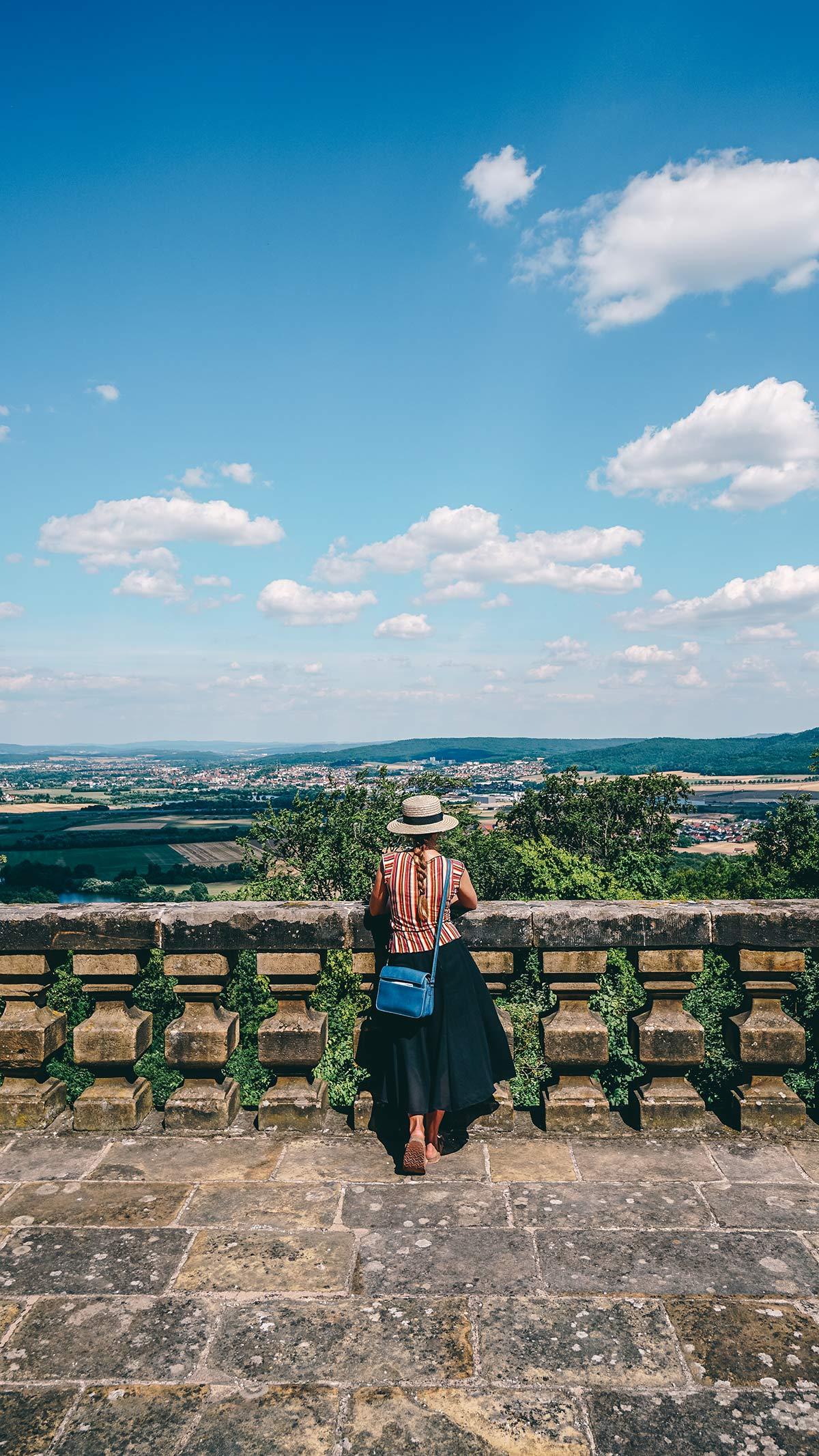 Aussicht vom Kloster Banz
