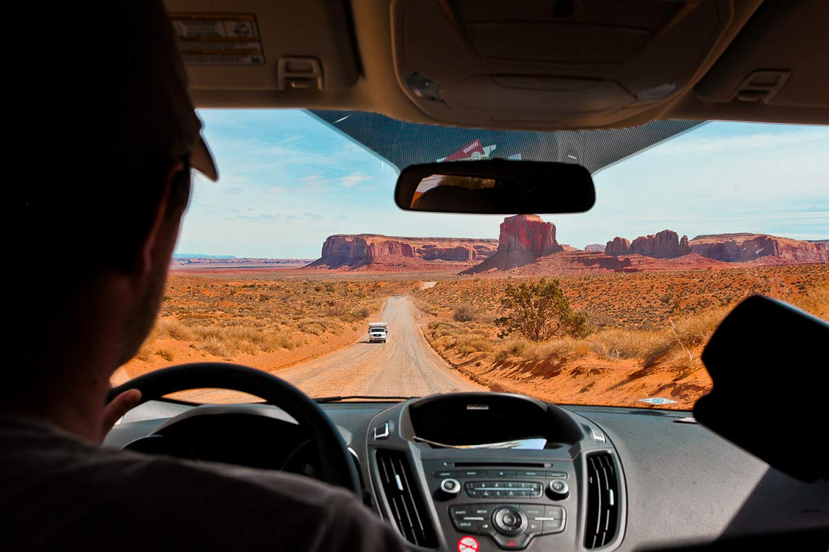 Autofahrt durchs Monument Valley Tipps