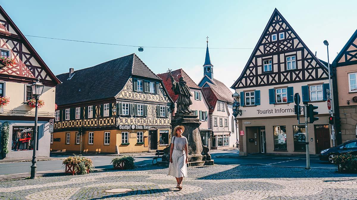 Bad Staffelstein Altstadt Platz