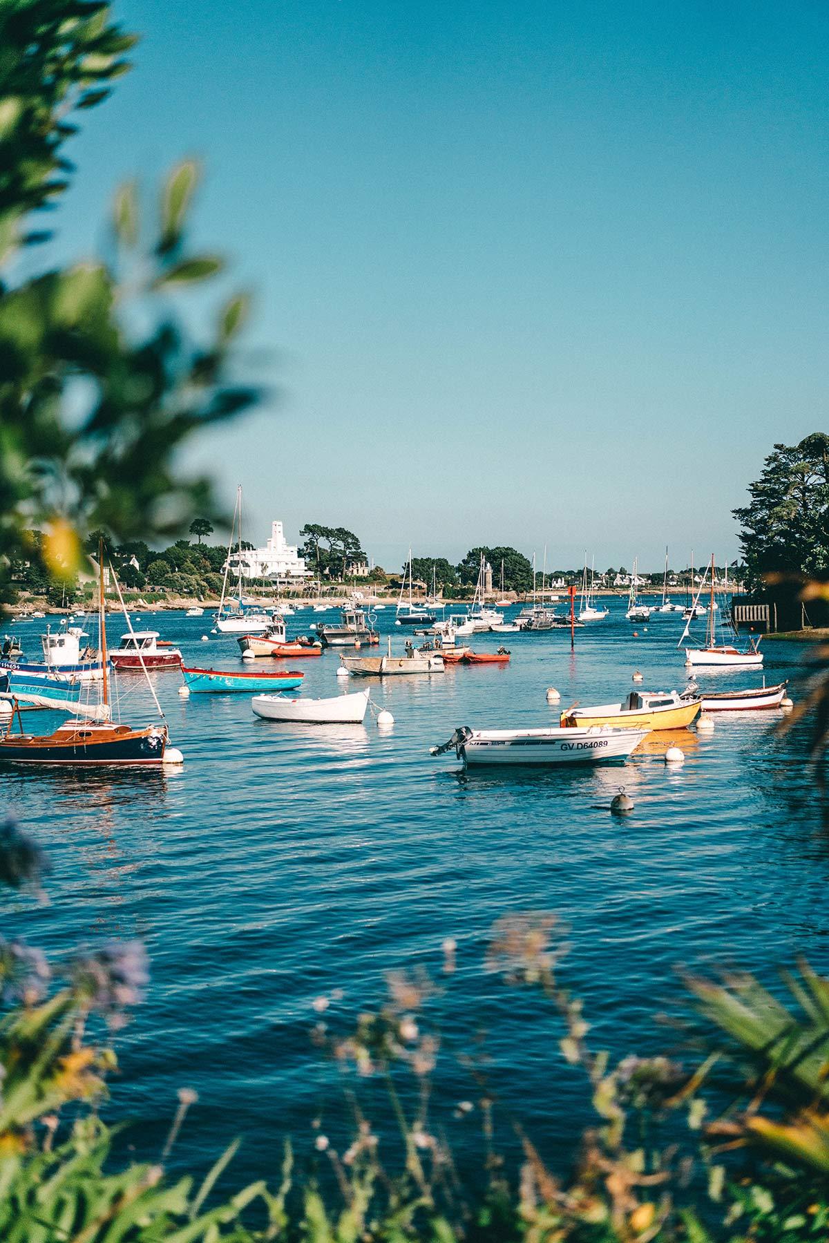 Benodet Hafen