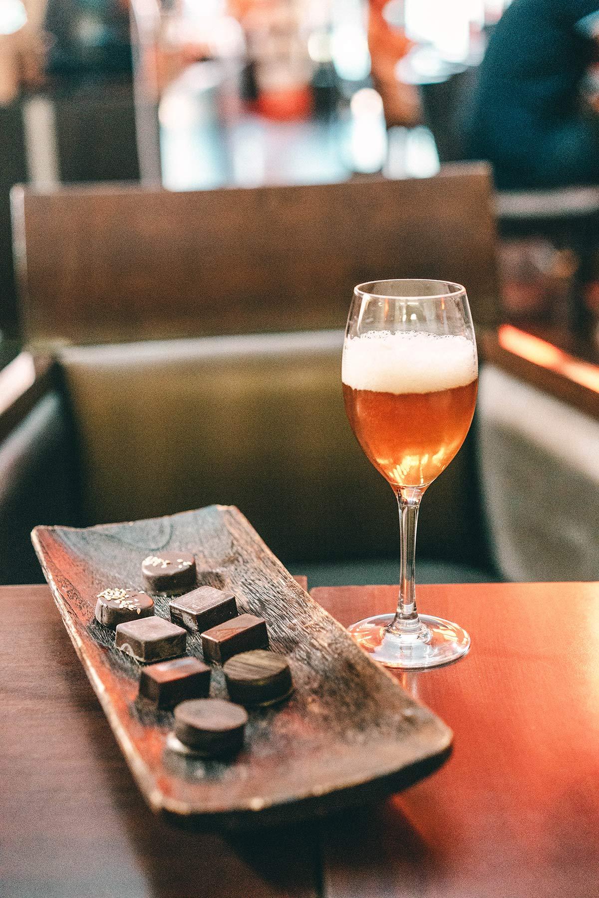 Bier und Schokolade Chocolaterie Les Chocolats d'Edouard