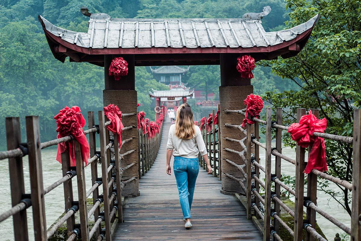 China Reisetipps Bruecke Bewaesserungssystem
