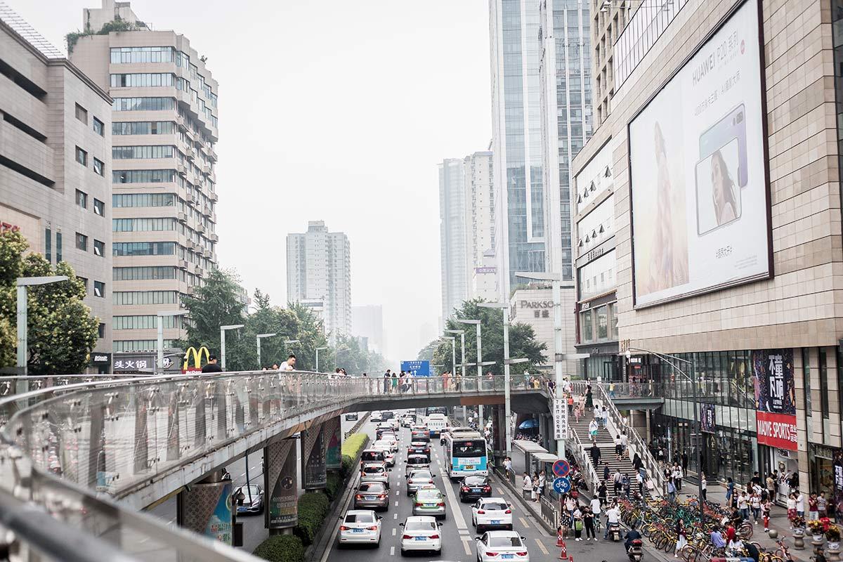 Chengdu in Sichuan