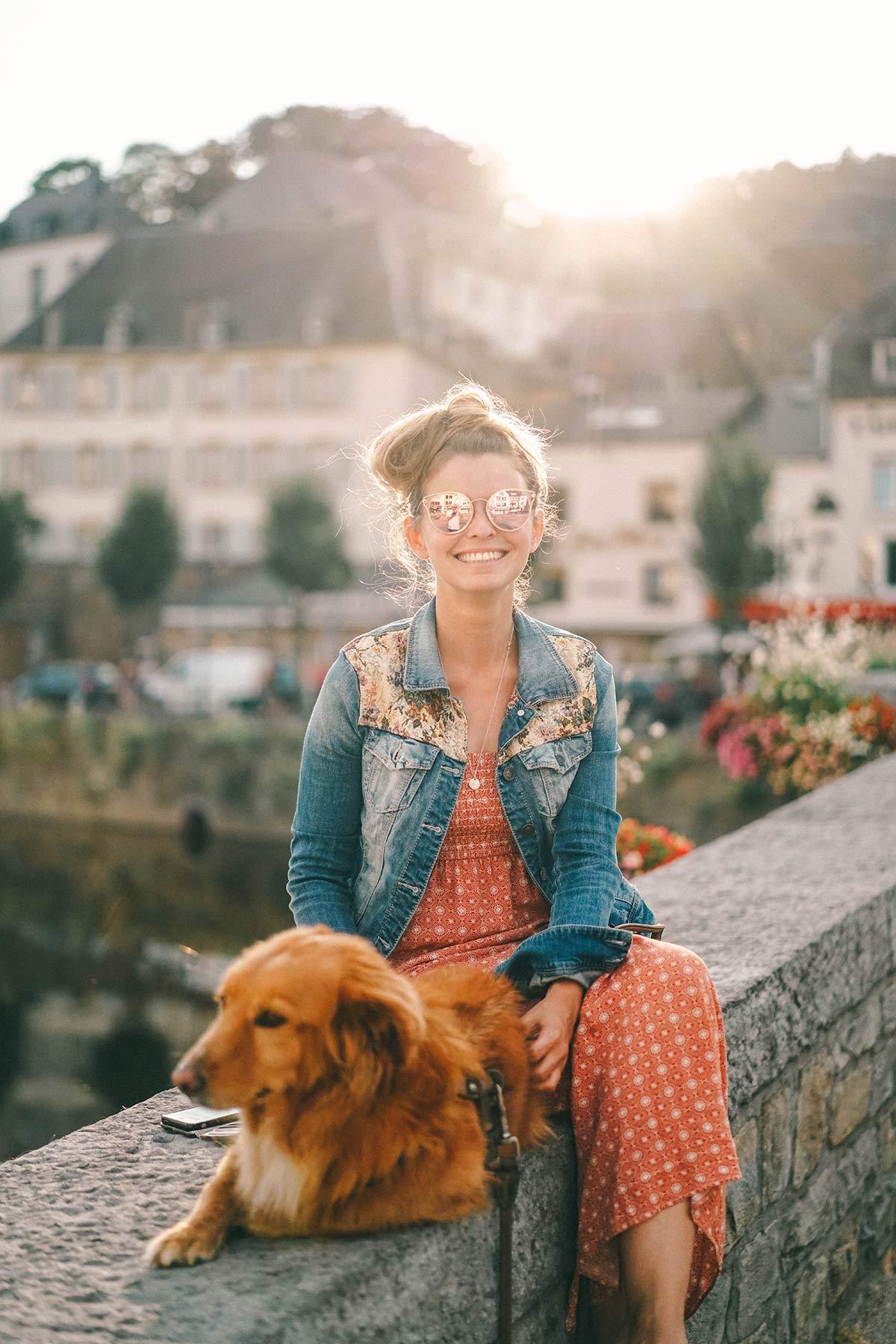 Christine Neder in Belgien