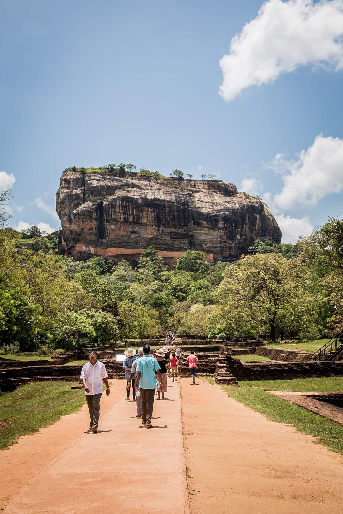 Festung Sigiriya Sri Lanka