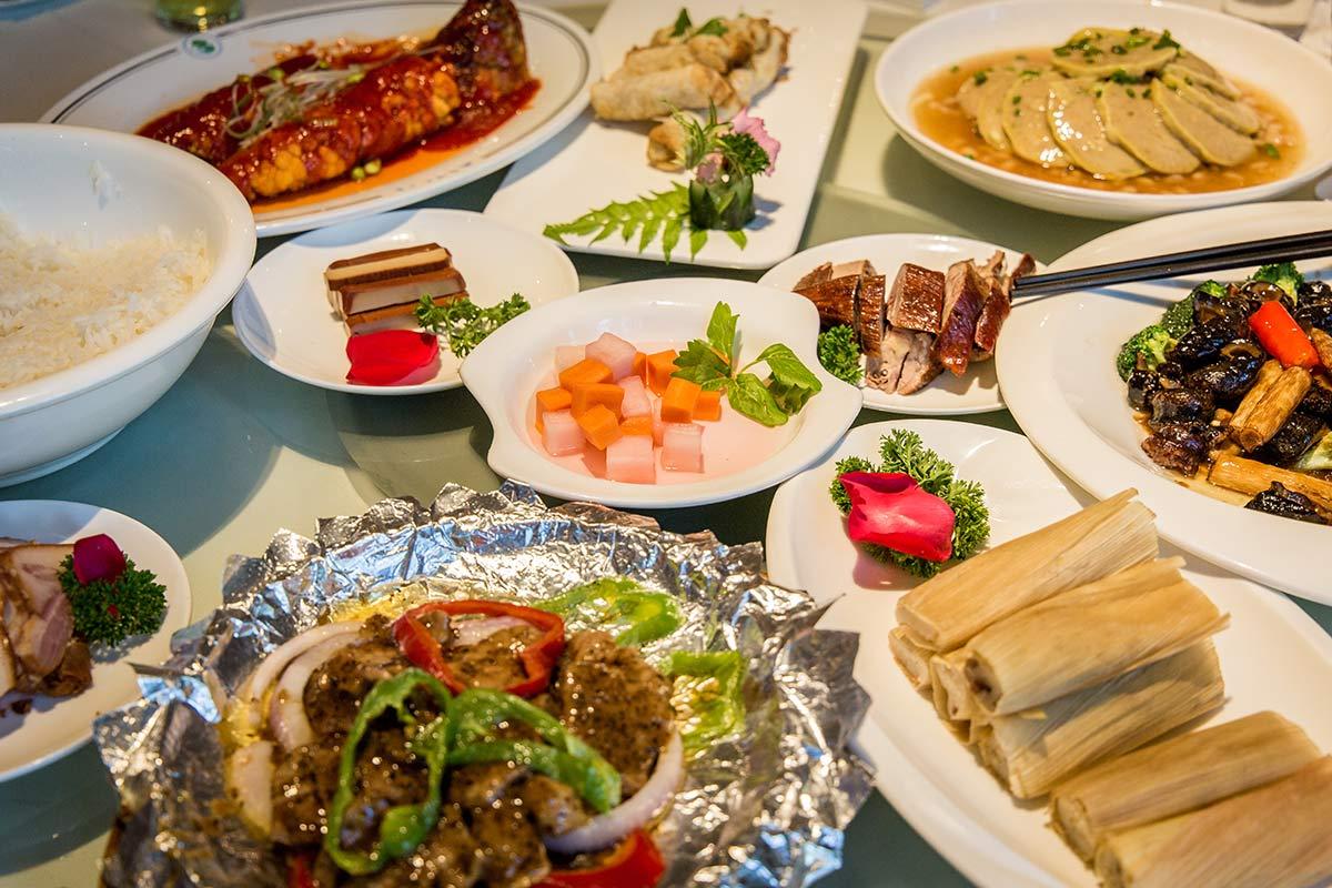 Gerichte aus Sichuan