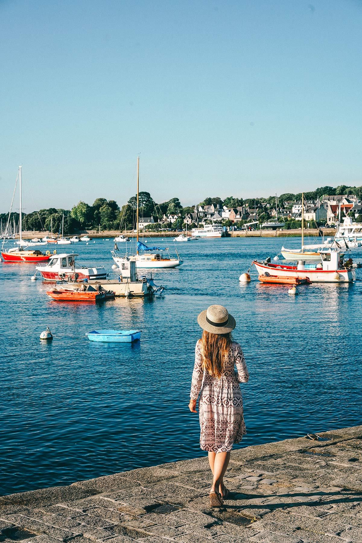 Hafen Benodet