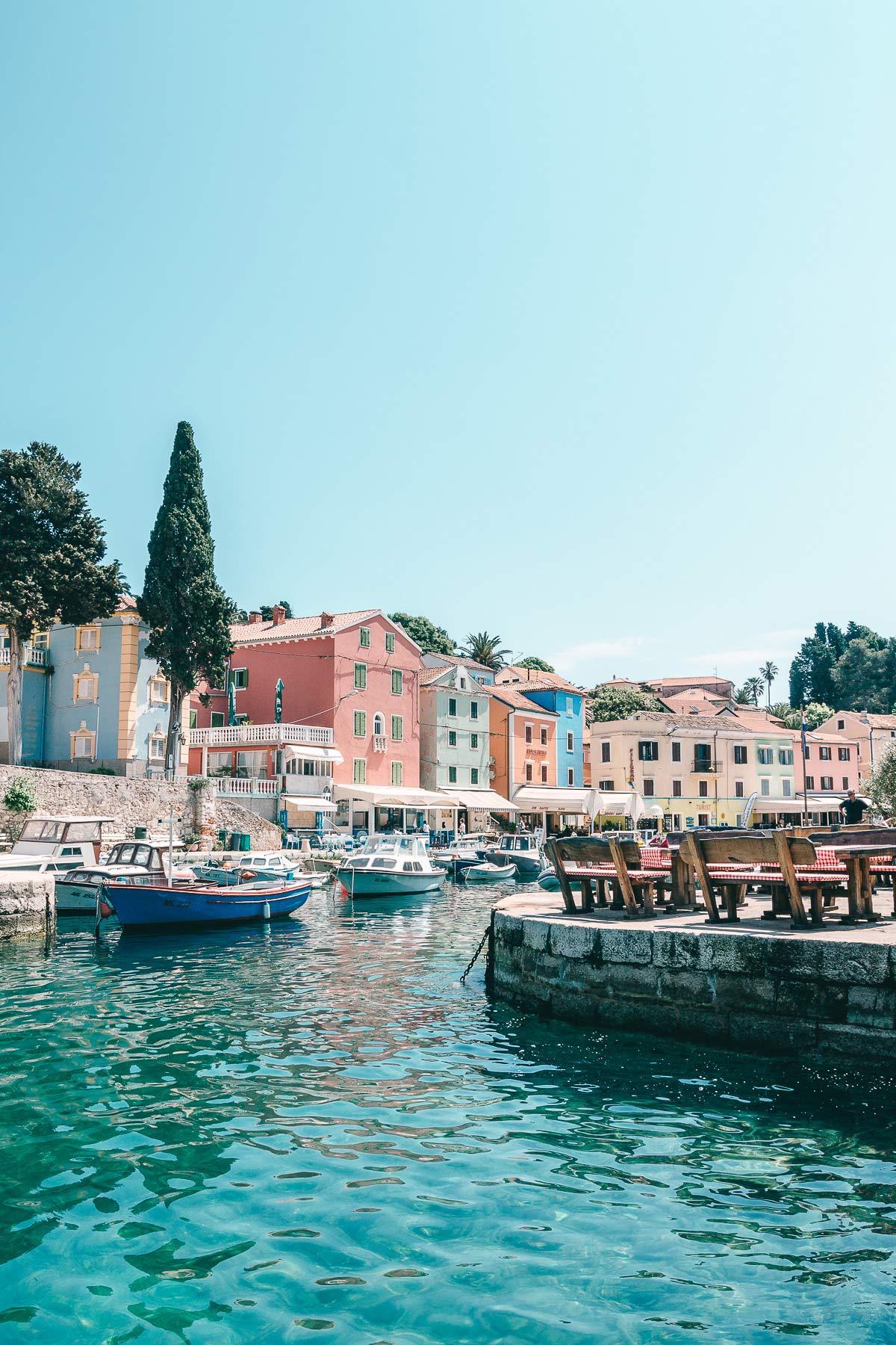 Veli Losinj Kroatien