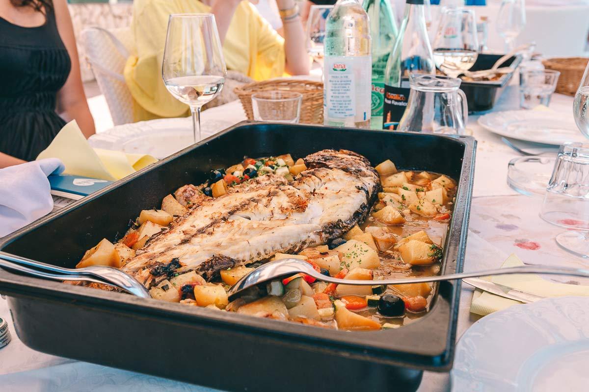 Kroatien Fisch Essen
