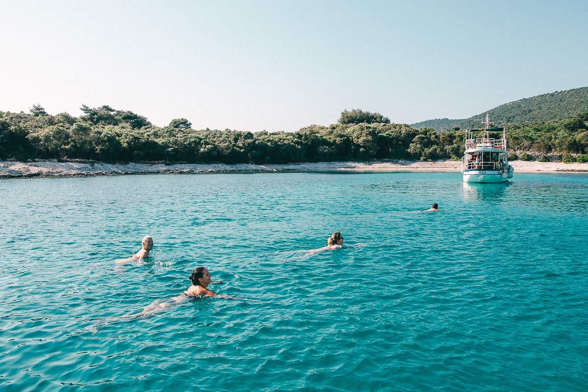 Kroatien Schwimmen