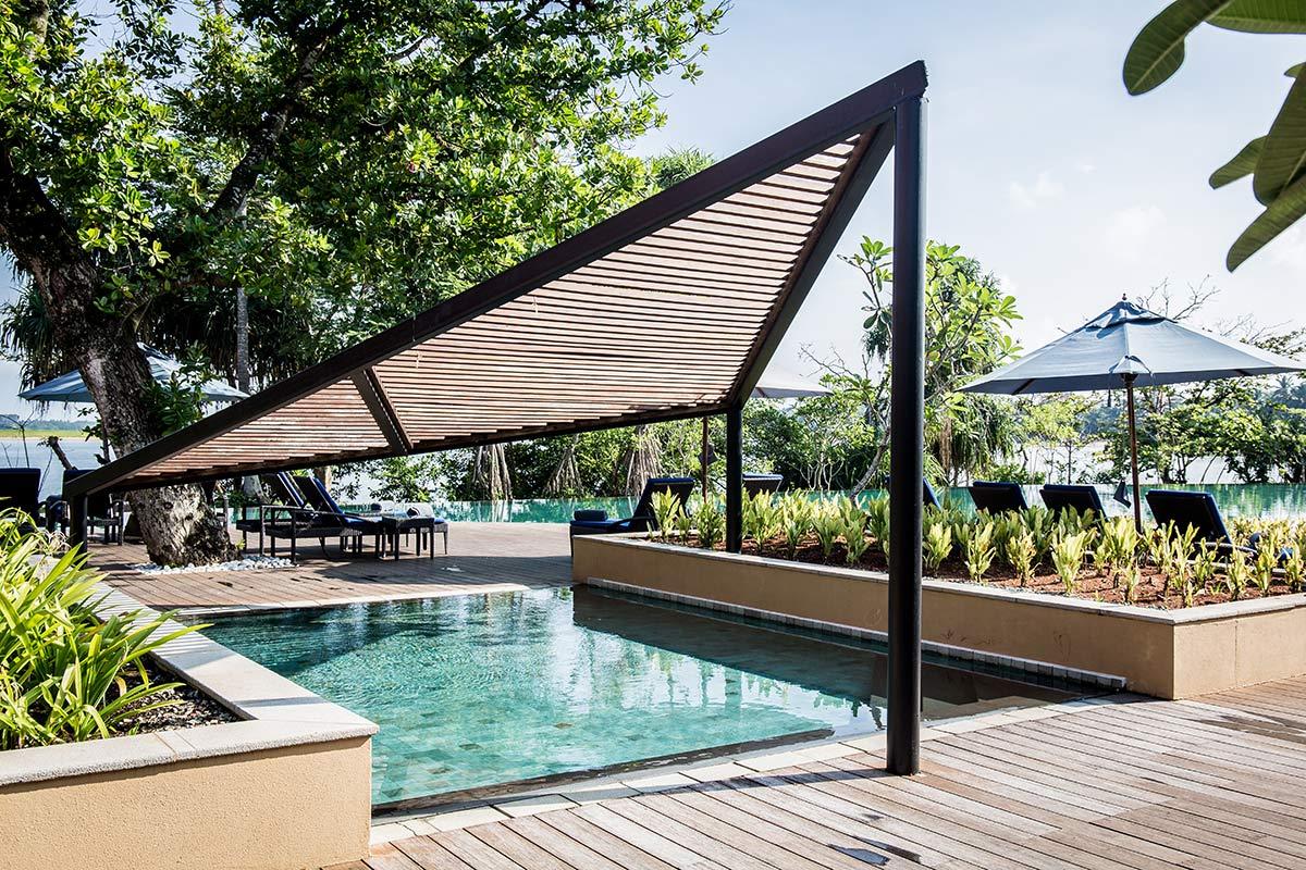 Infinty Pool im Anantara Kalutara Resort