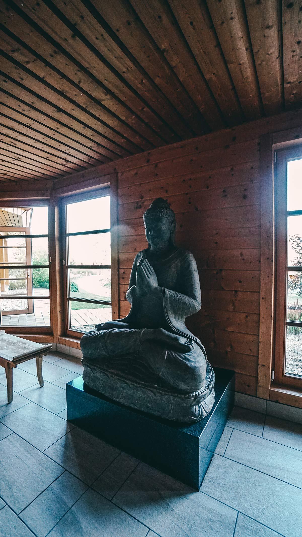 Innenbereich der Sauna Obermain Therme