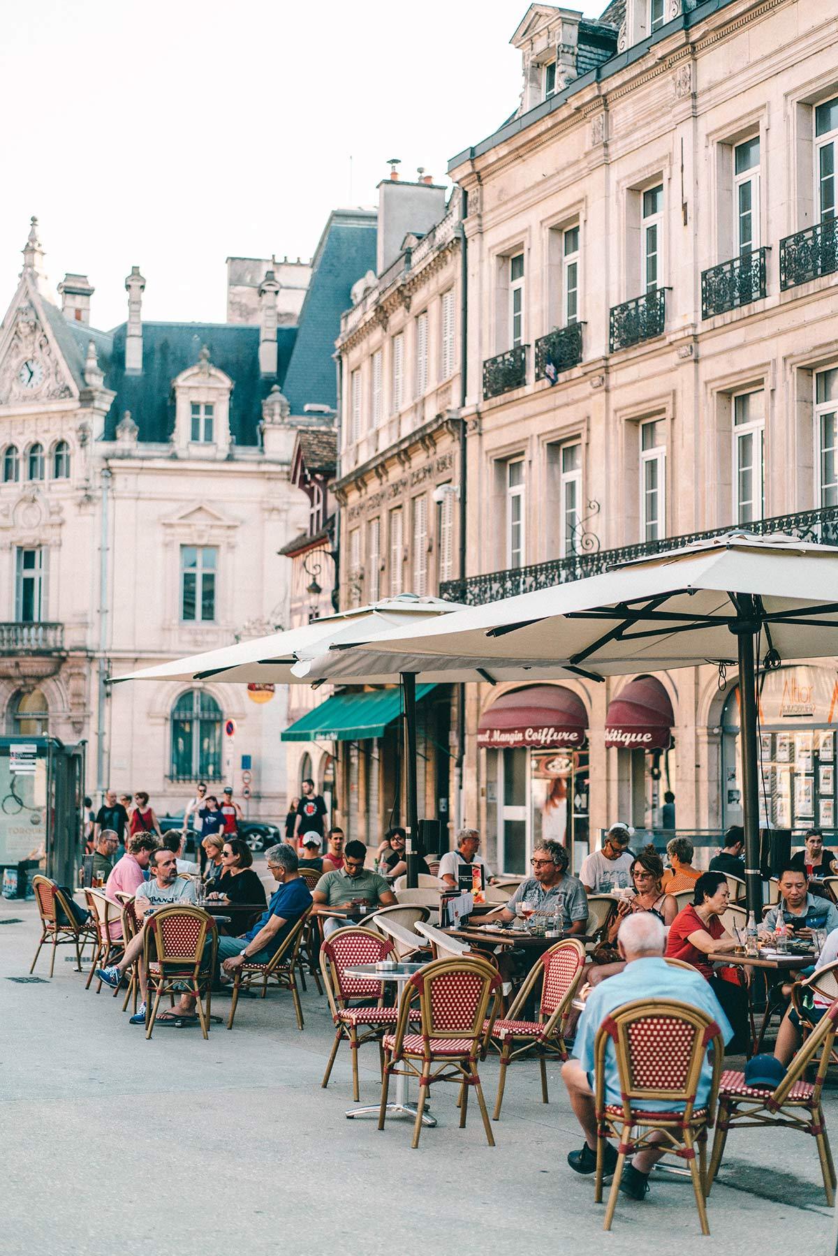 Innenstadt von Dijon