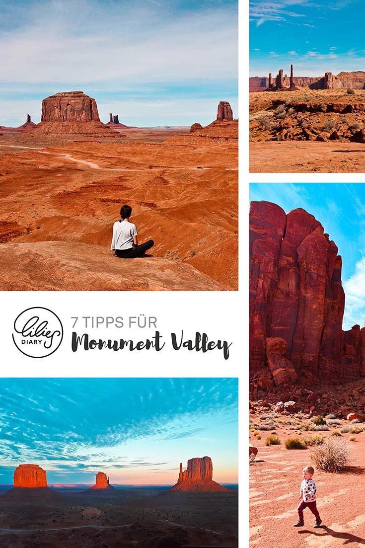 Kalifornien Urlaub Monument Valley