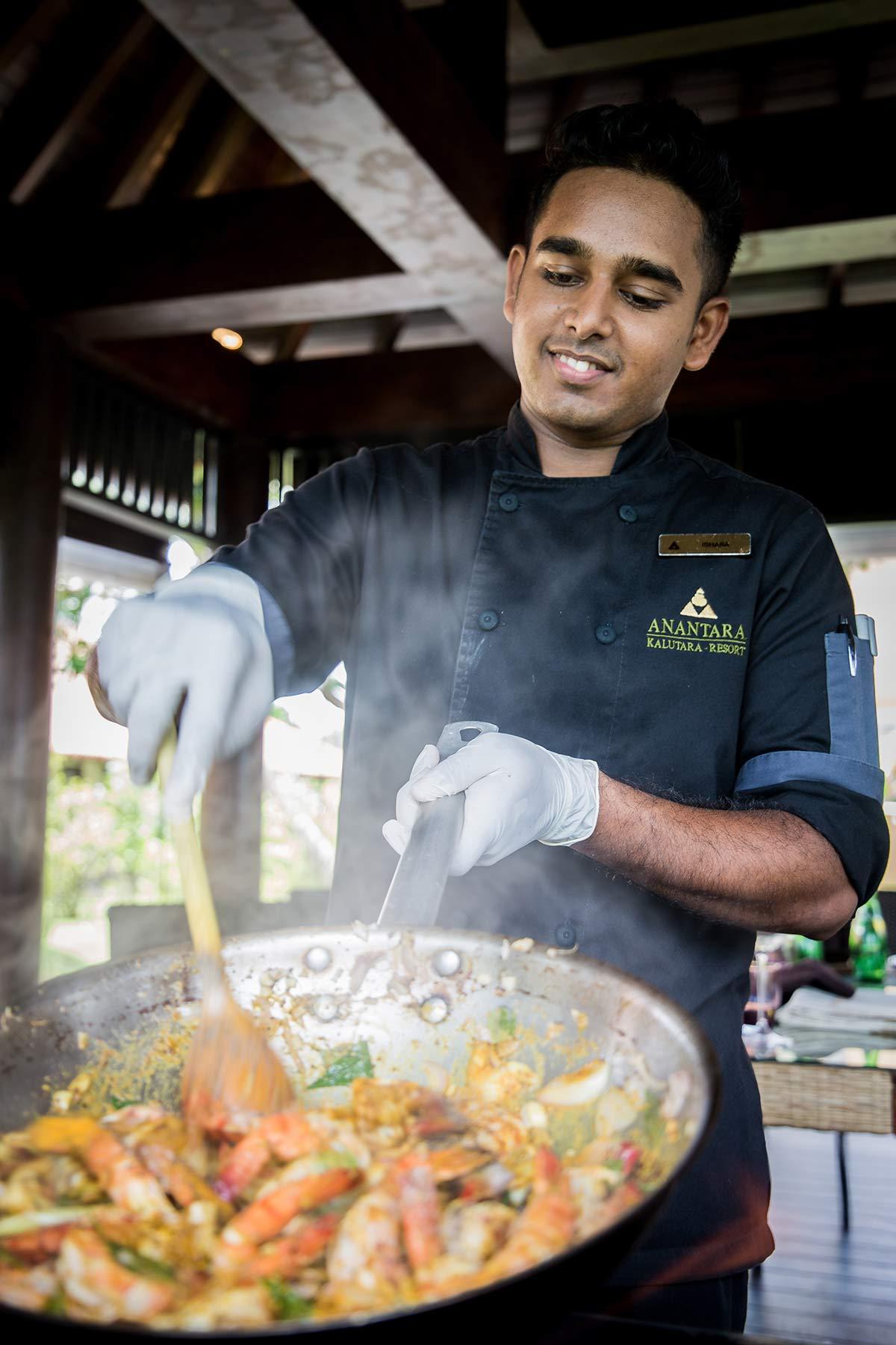 Koch Ishara im Anantara Kalutara Resort