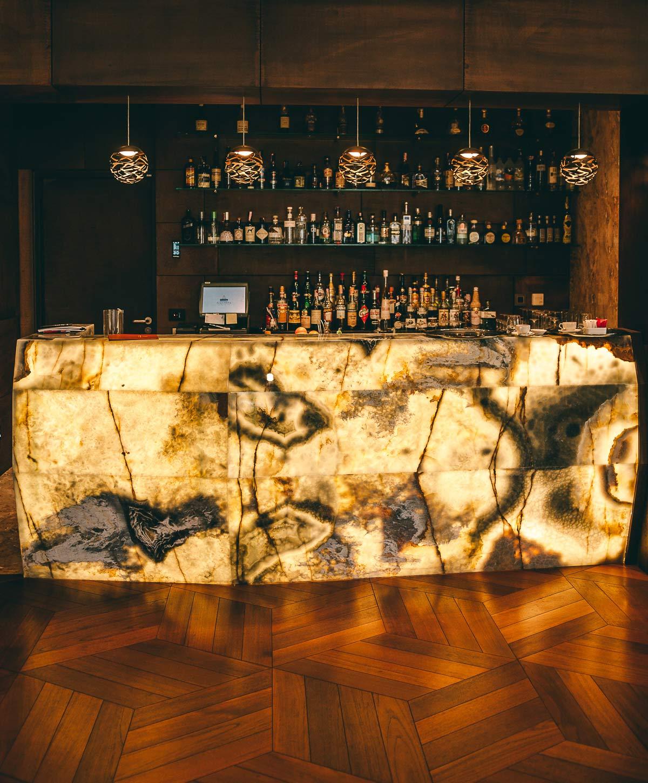 400 Weine gibt es im Hotel Alhambra
