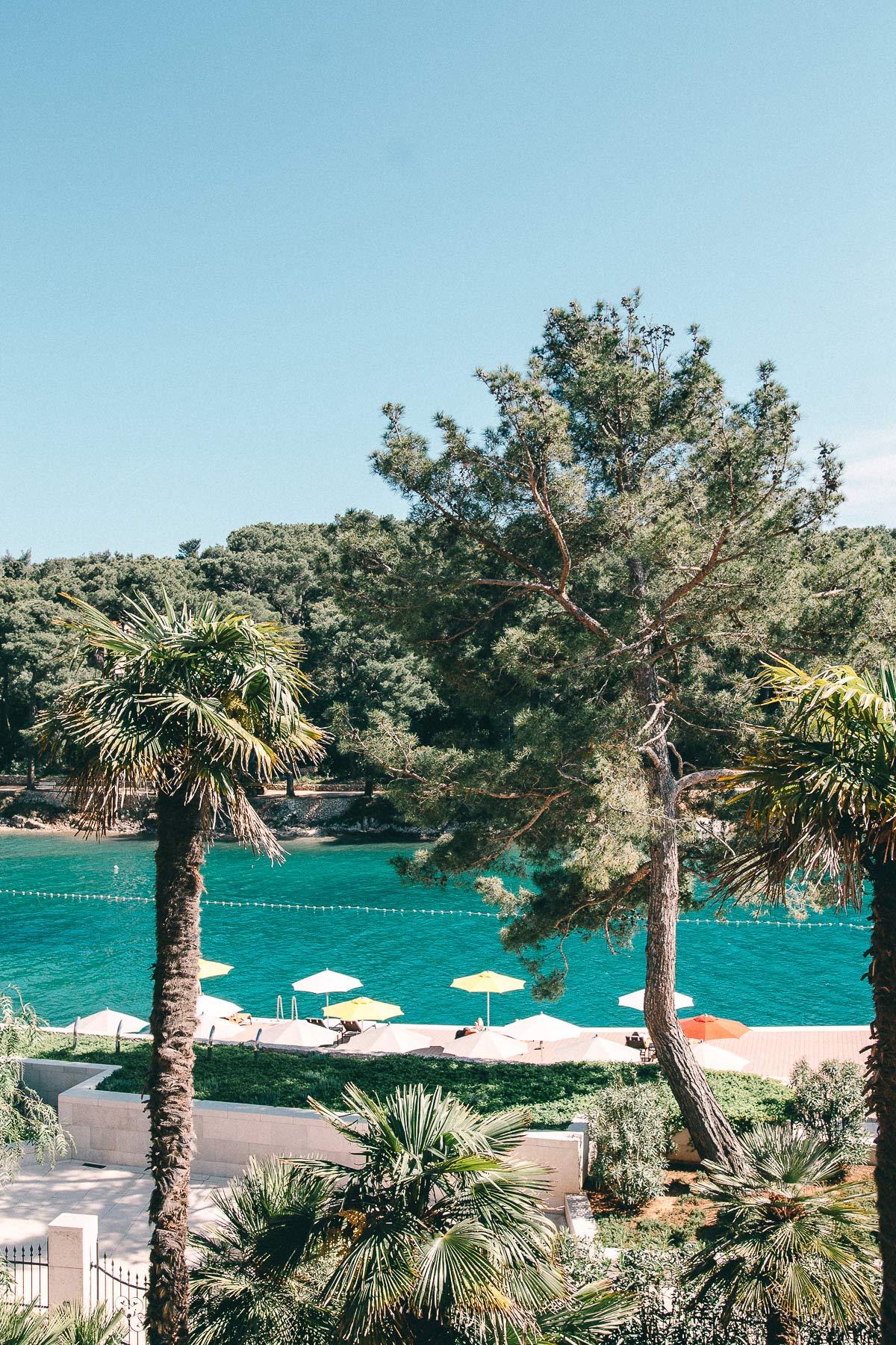 Der Blick vom Hotel Alhambra