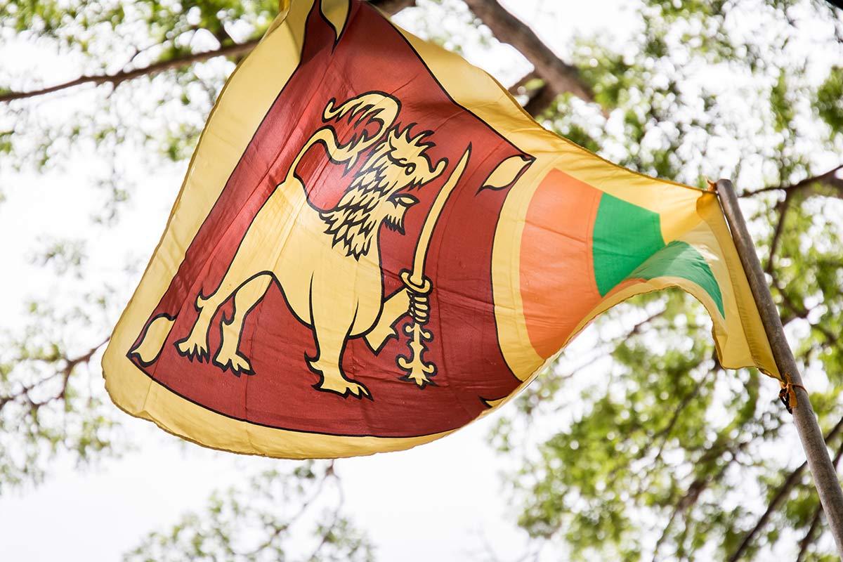 Landesflagge Sri Lanka
