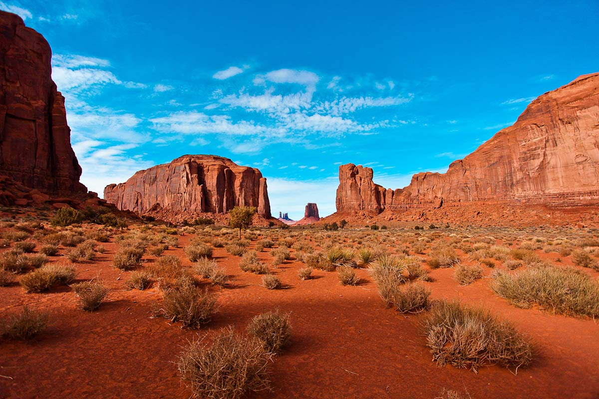 Landschaft Monument Valley