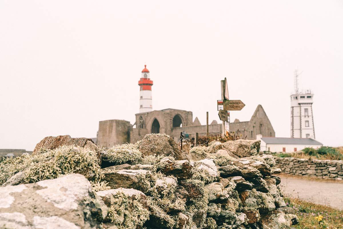 Leuchturm Landspitze Saint Mathie