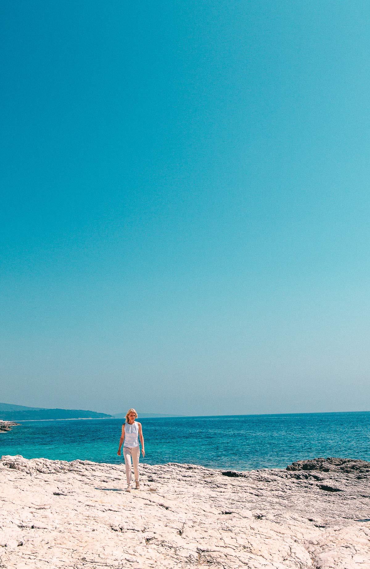 Sonnenbucht in Kroatien