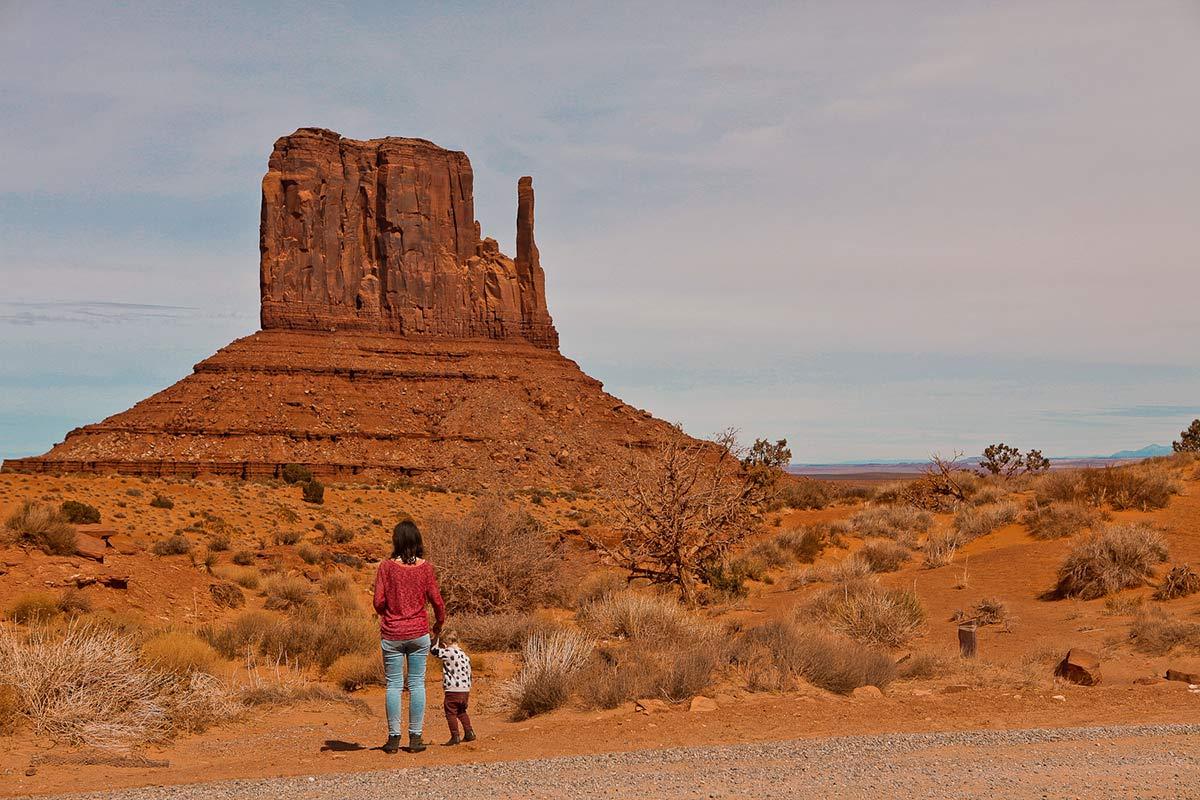 Monument Valley Mitten Butte