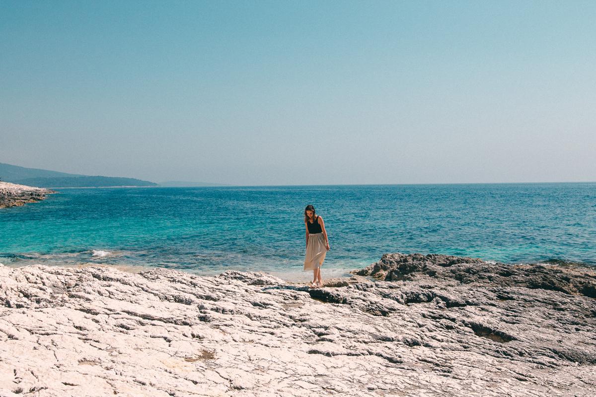 Die Sonnenbucht auf der Insel Losinj