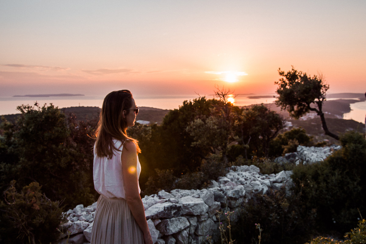 Ausblick auf Kroatien