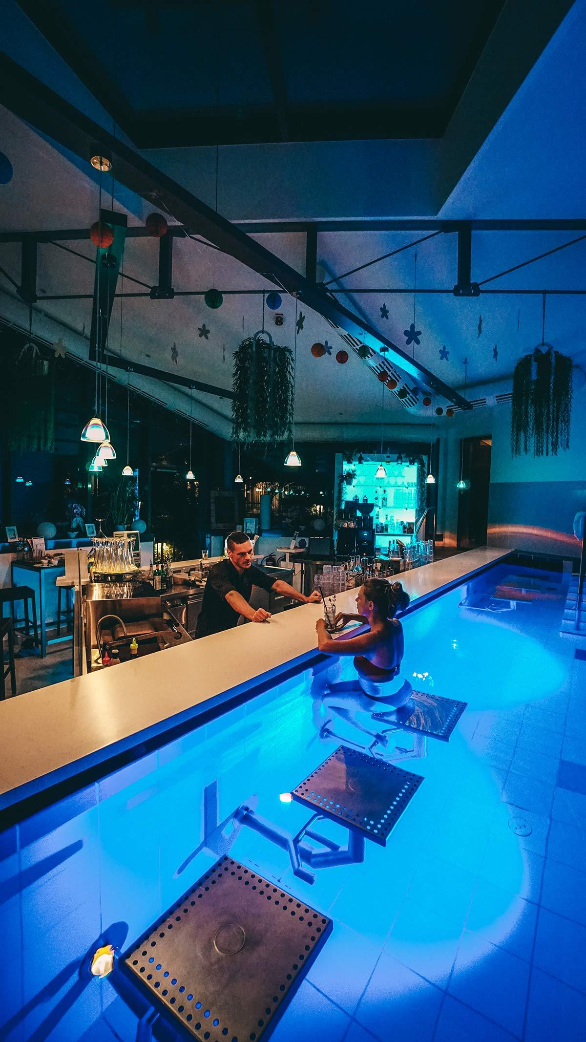 Obermain Therme Bar Pool