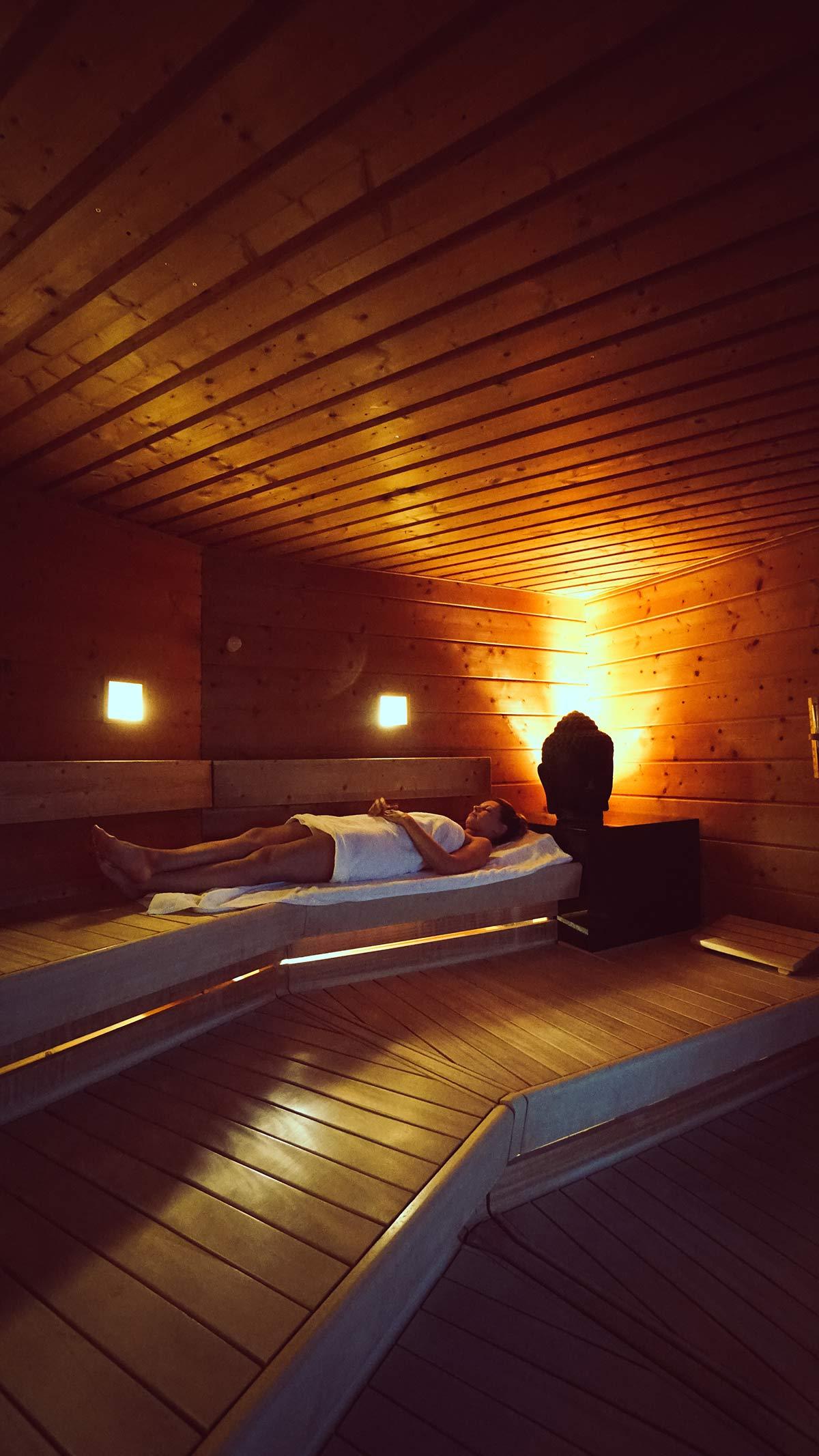 Obermain Therme Sauna der Stille Entspannen