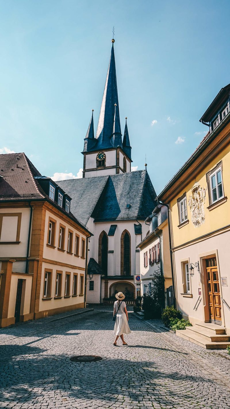 Pfarrkirche St. Kilian Altstadt Bad Staffelstein