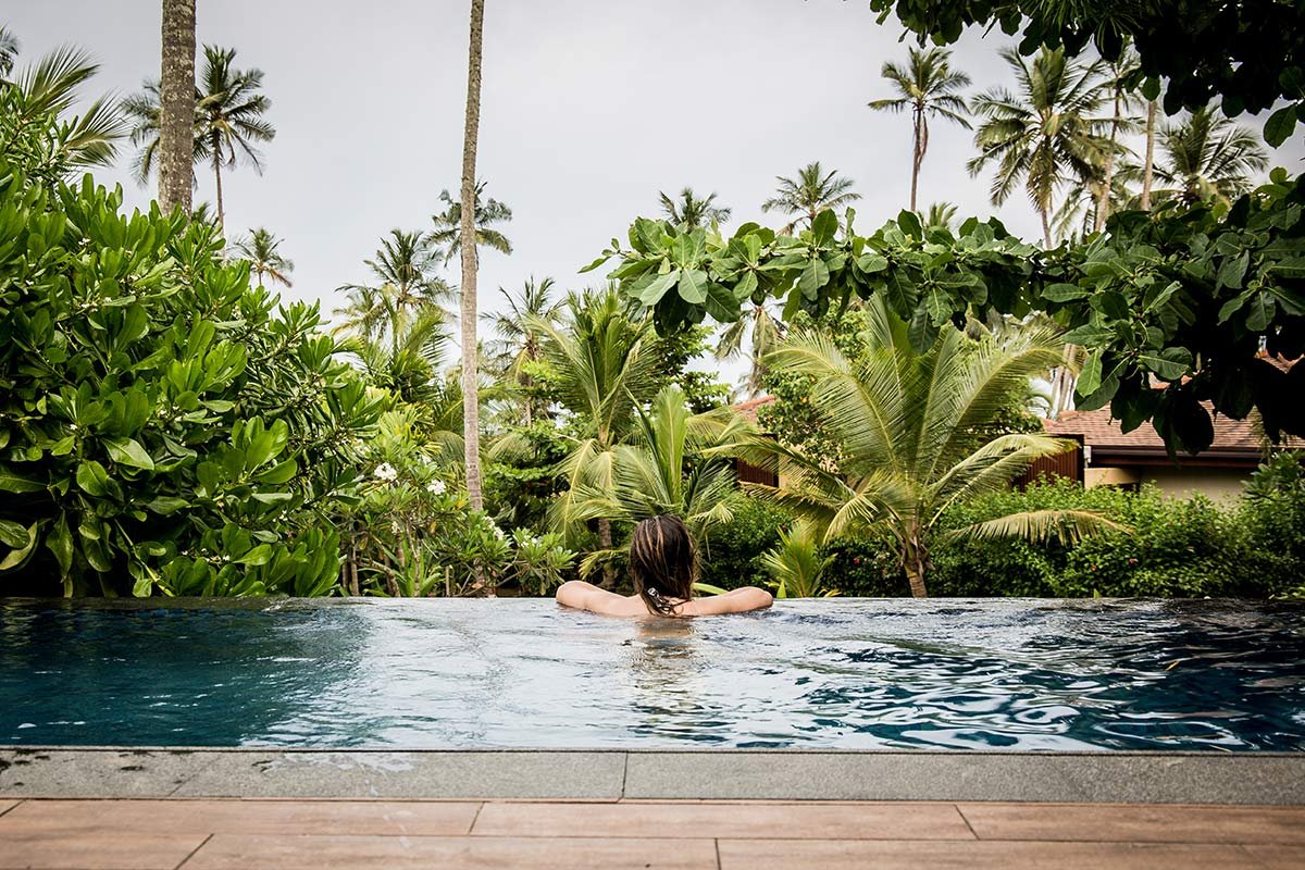 Pool im Anantara Peace Haven Tangalle