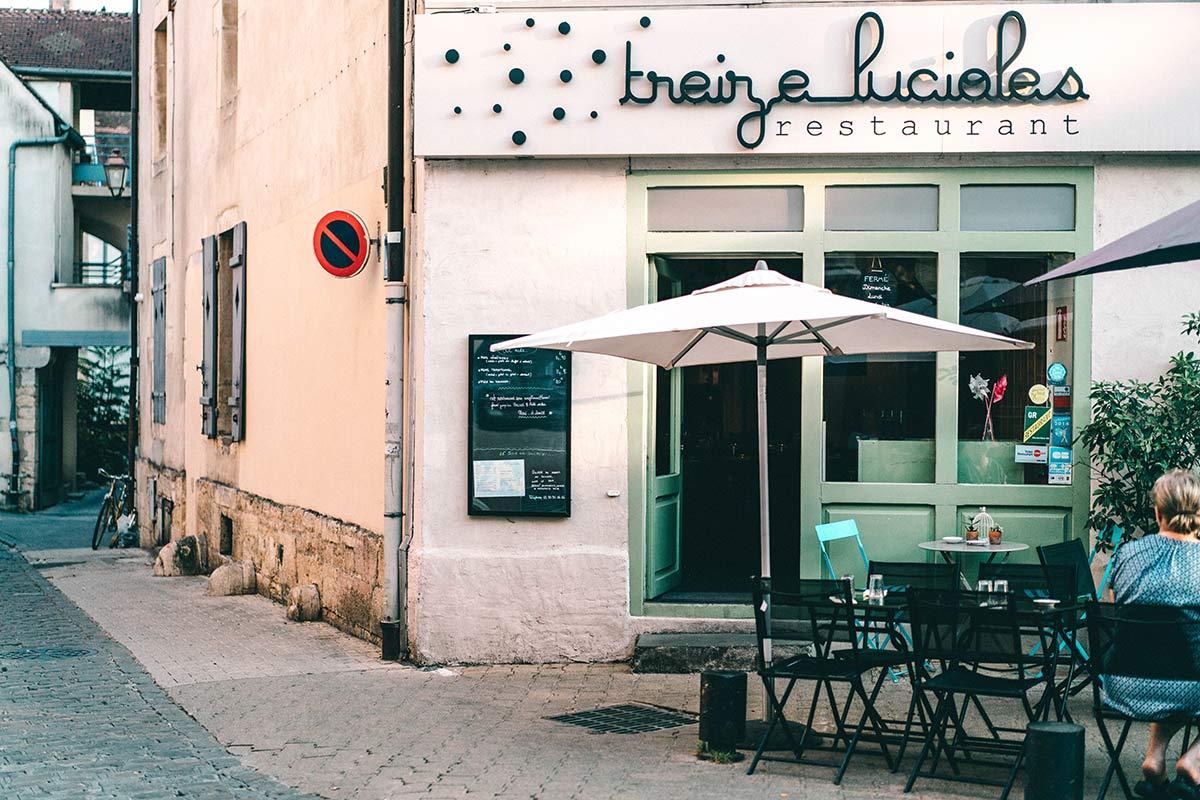 Restaurant in Dijon