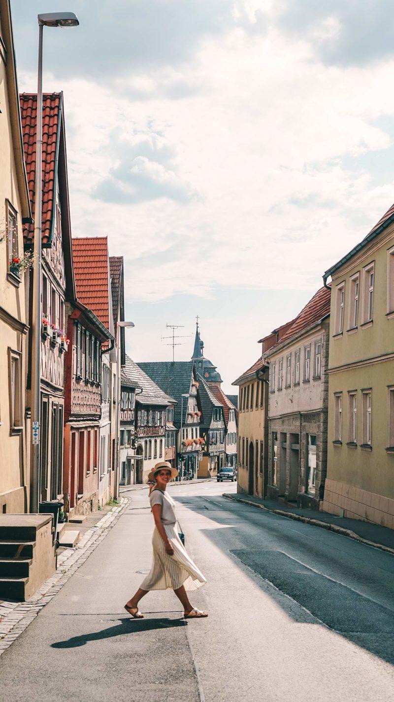 Spaziergang in der Altstadt Bad Staffelstein