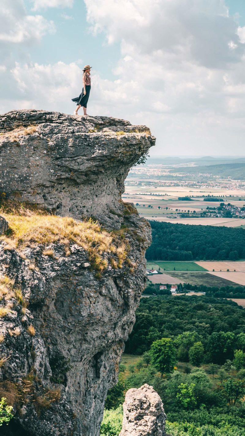 Staffelberg Aussicht auf Bad Staffelstein