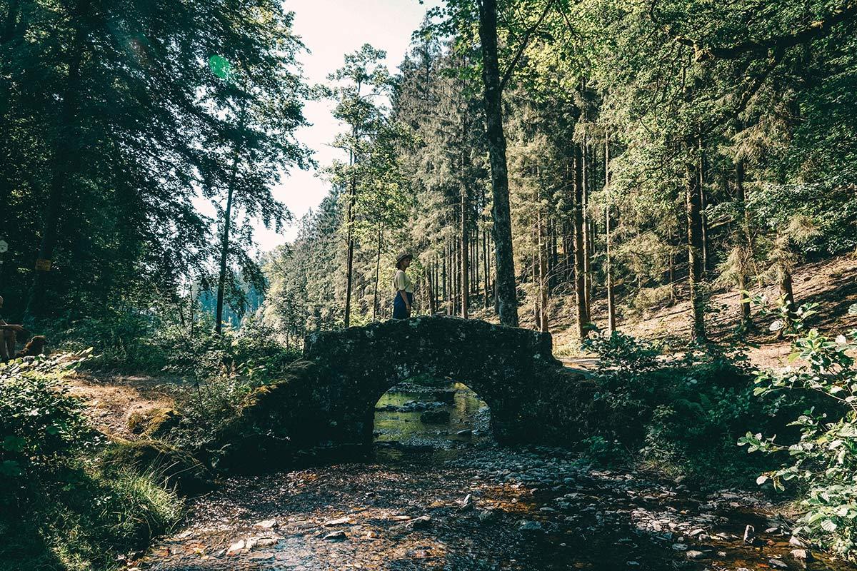 Fotomotiv Steinbrücke