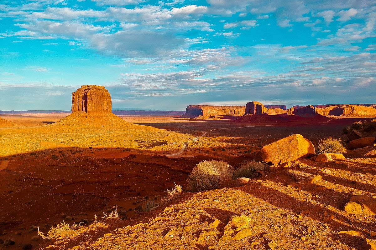Sunset im Monument Valley