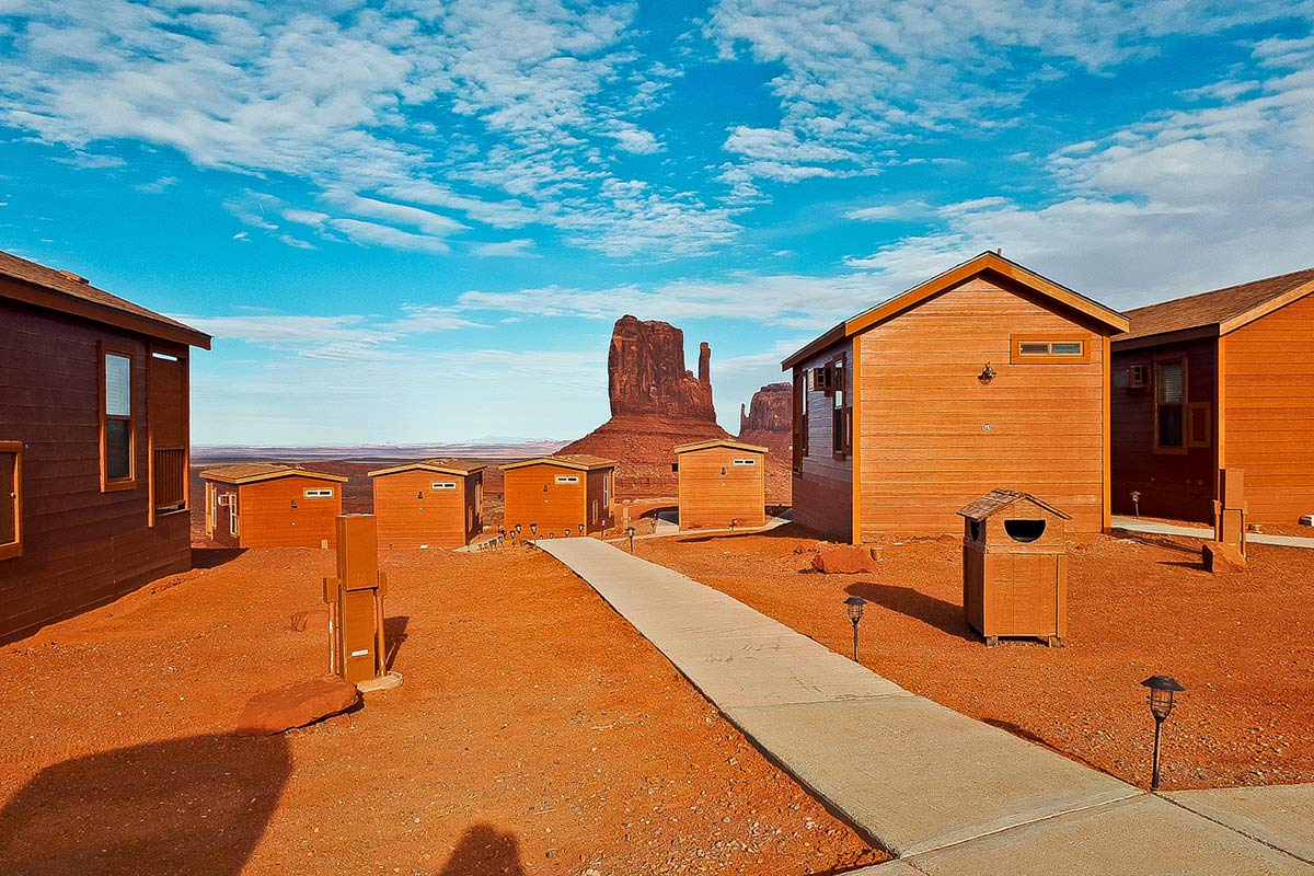 The View Hotel Cabins Monument Valley